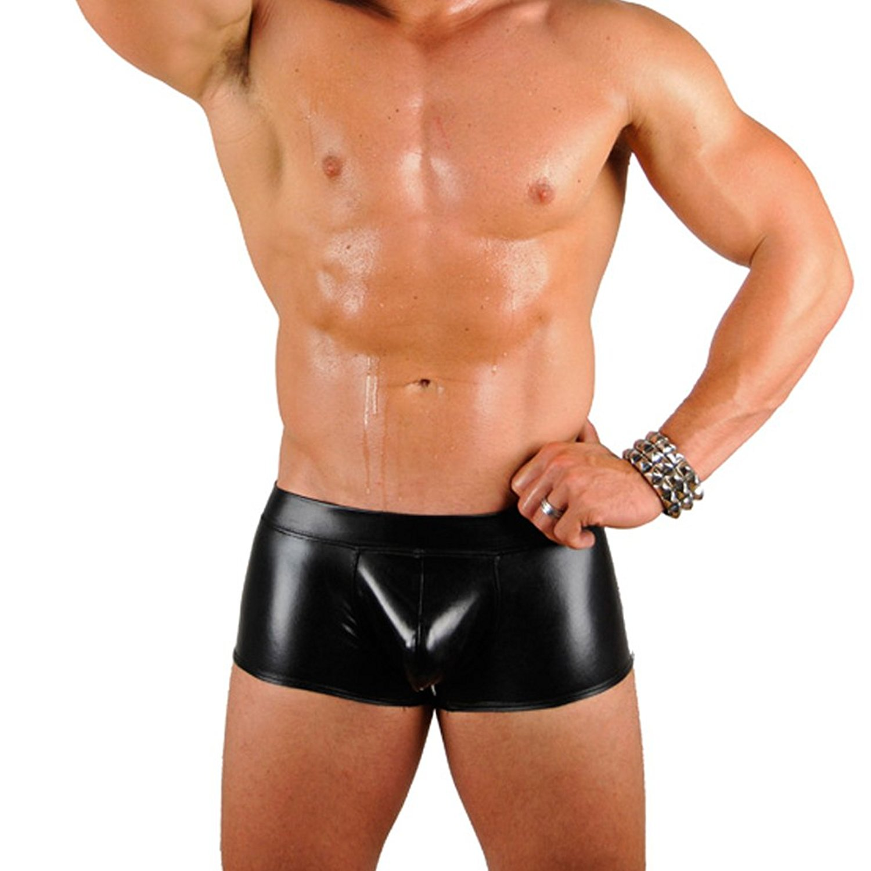 Mens-New-Liquid-Metallic-Hot-Body-Boxer-Swimsuit-Gary-Majdell-Sport thumbnail 7