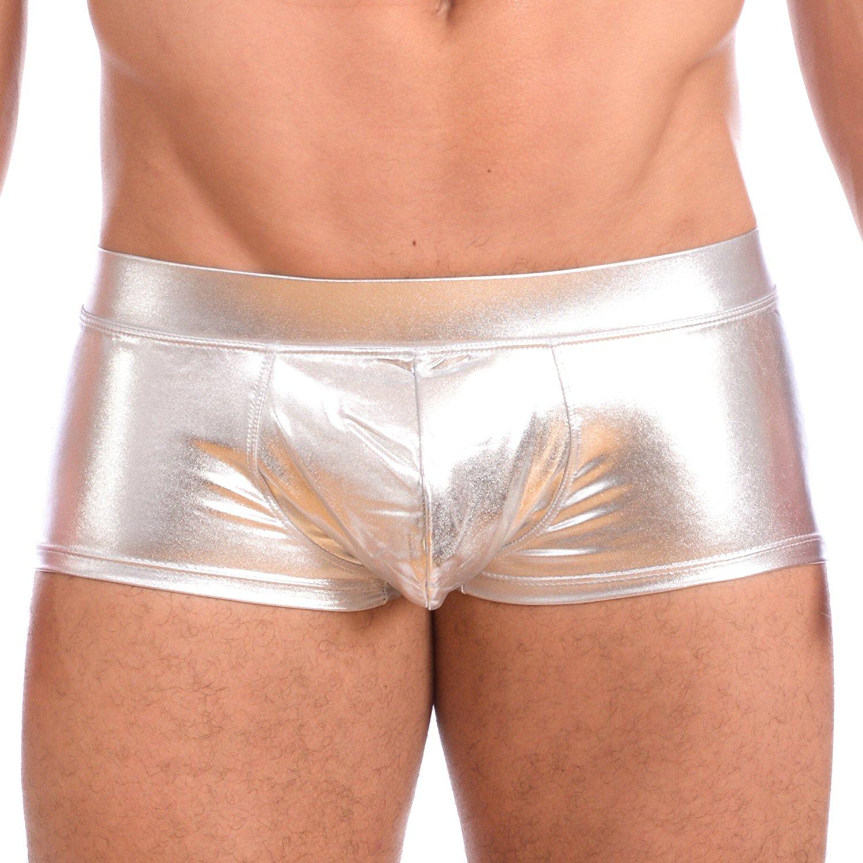 Mens-New-Liquid-Metallic-Hot-Body-Boxer-Swimsuit-Gary-Majdell-Sport thumbnail 16