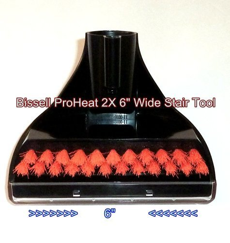 Bissell Proheat 2x Steam Cleaner 6 Quot Wide Stair Cleaning