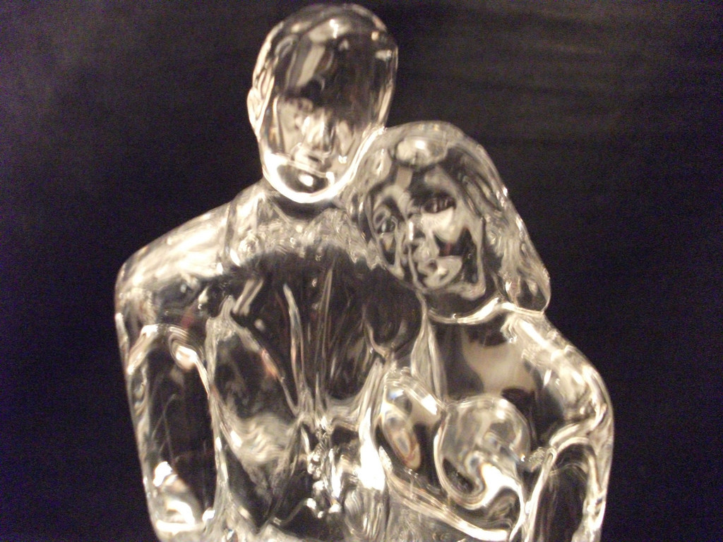 waterford crystal wedding cake topper waterford wedding ebay 21672