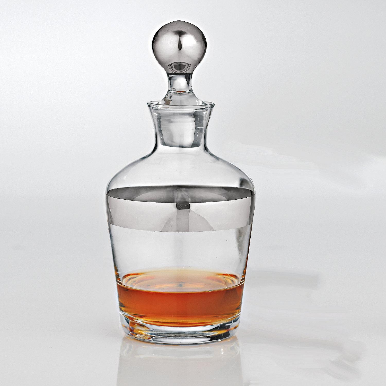 wine enthusiast madison avenue whiskey decanter ebay. Black Bedroom Furniture Sets. Home Design Ideas
