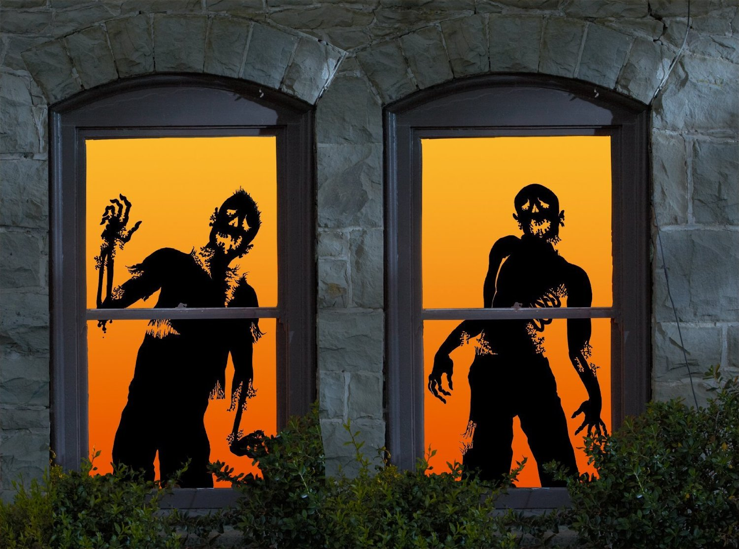 Wowindow Posters Ghoulies Silhouettes Halloween Window