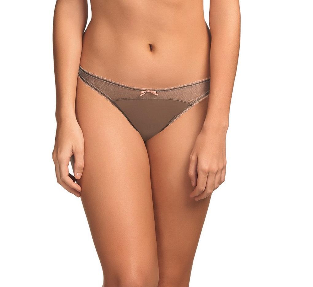 Freya Deco Vibe AA1707 Mocha Brazilian Thong NWT Large Sizes Available
