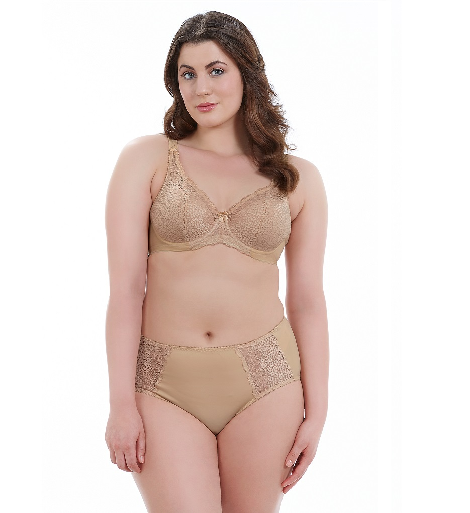 24bde7a29dc77 Details about Goddess Women s Michelle GD5000 Sand UW Padded Banded Bra NWT