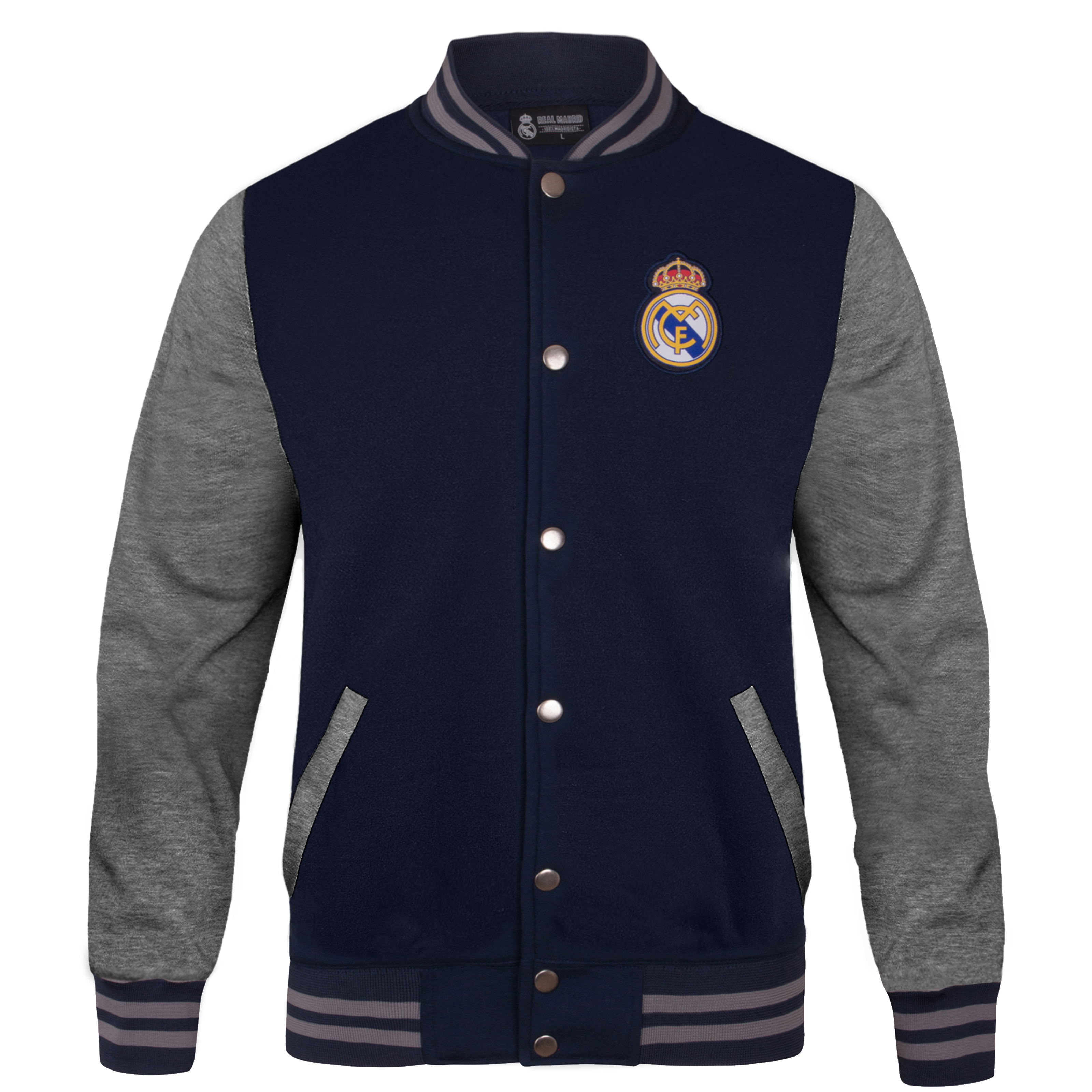 Rangers FC Official Football Gift Mens Retro Varsity Baseball Jacket