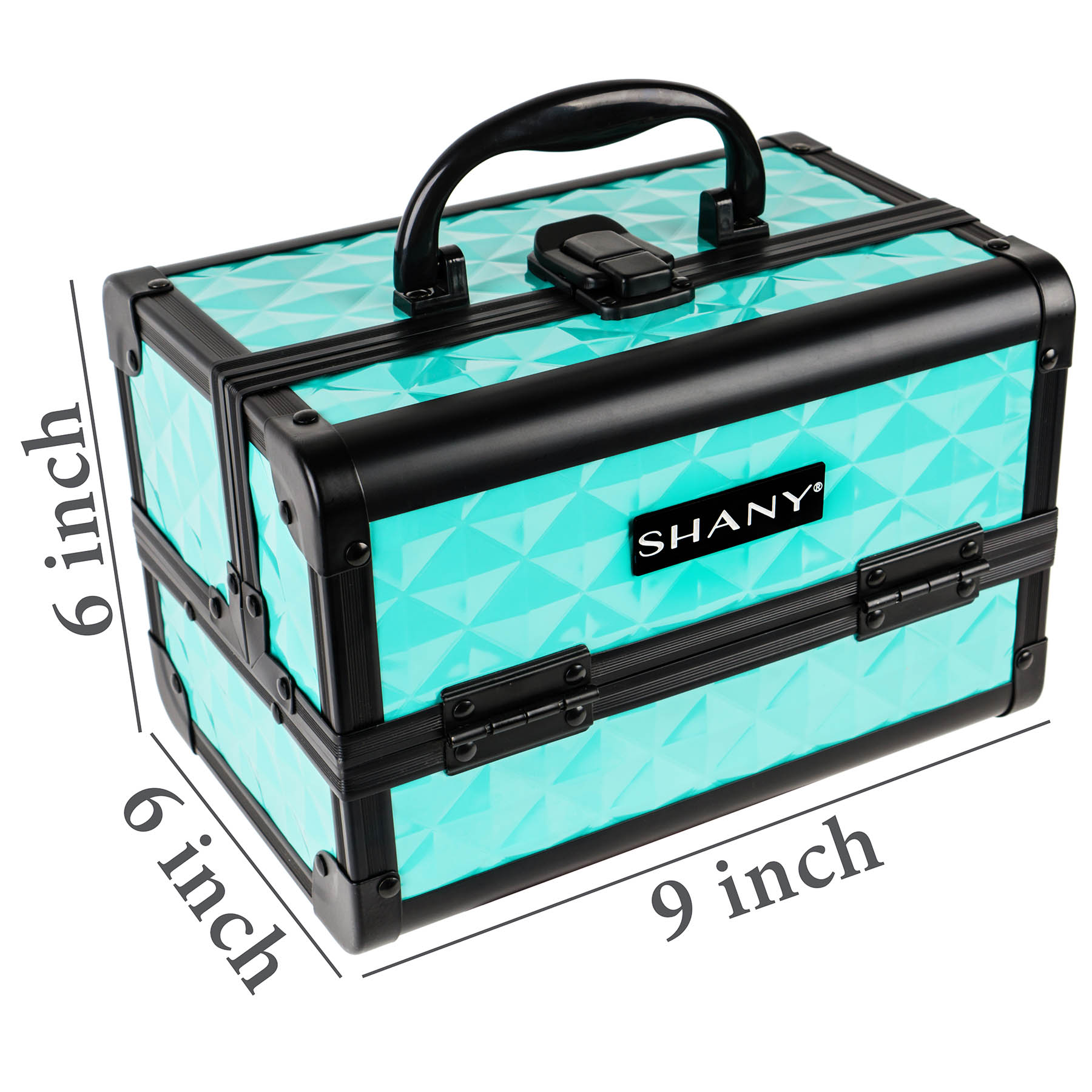 SHANY-Mini-Makeup-Train-Case-With-Mirror miniature 79