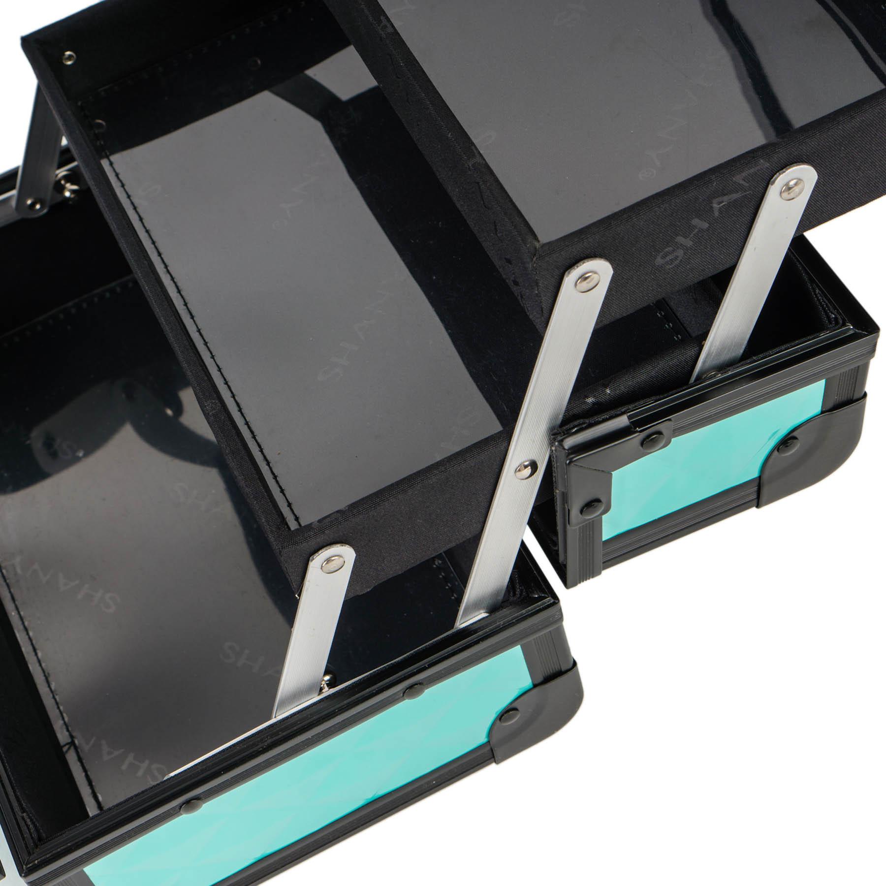 SHANY-Mini-Makeup-Train-Case-With-Mirror miniature 85