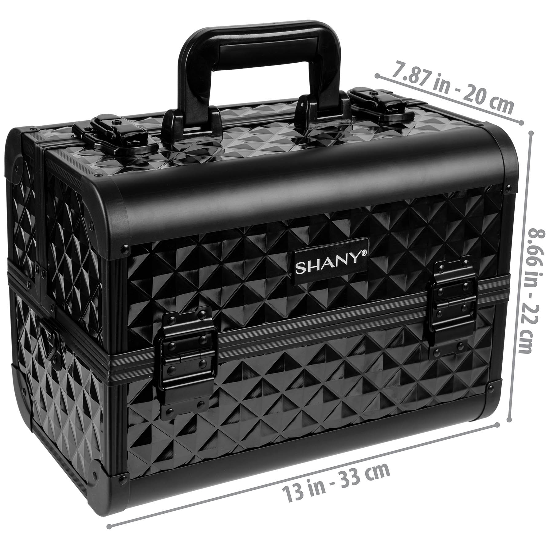 SHANY-Fantasy-Collection-Makeup-Artists-Cosmetics-Train-Case miniature 4