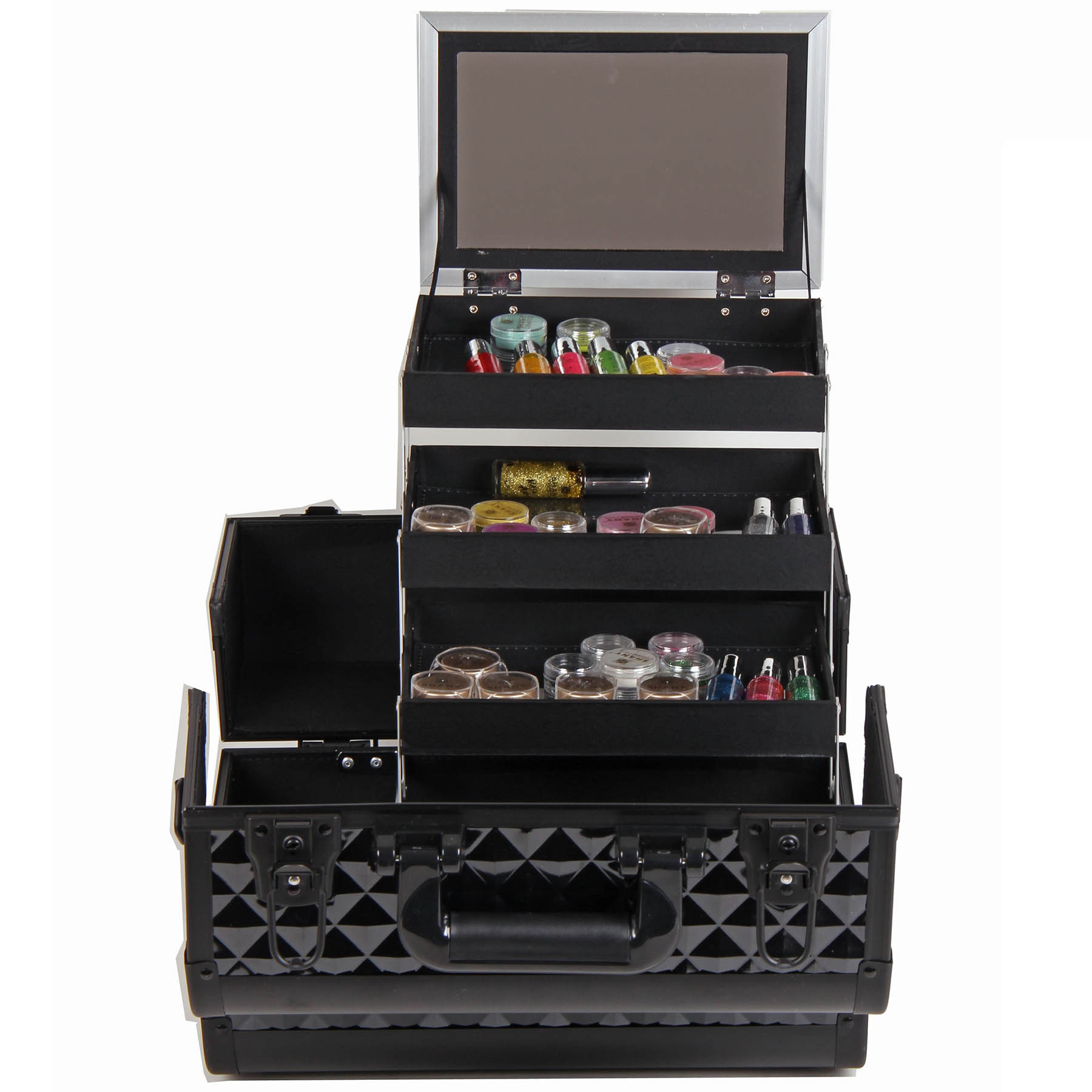 SHANY-Fantasy-Collection-Makeup-Artists-Cosmetics-Train-Case miniature 8
