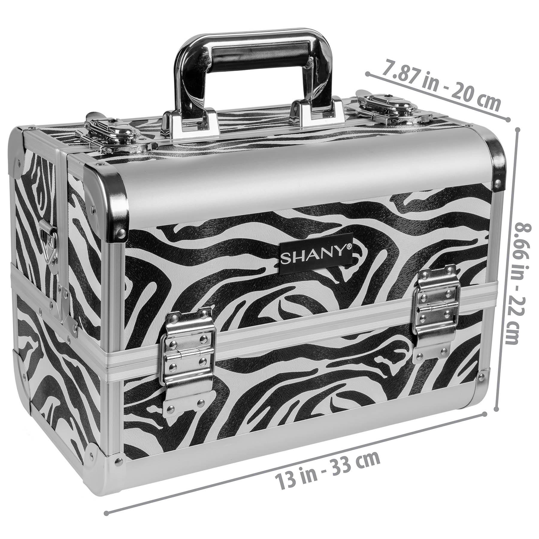 SHANY-Fantasy-Collection-Makeup-Artists-Cosmetics-Train-Case miniature 73