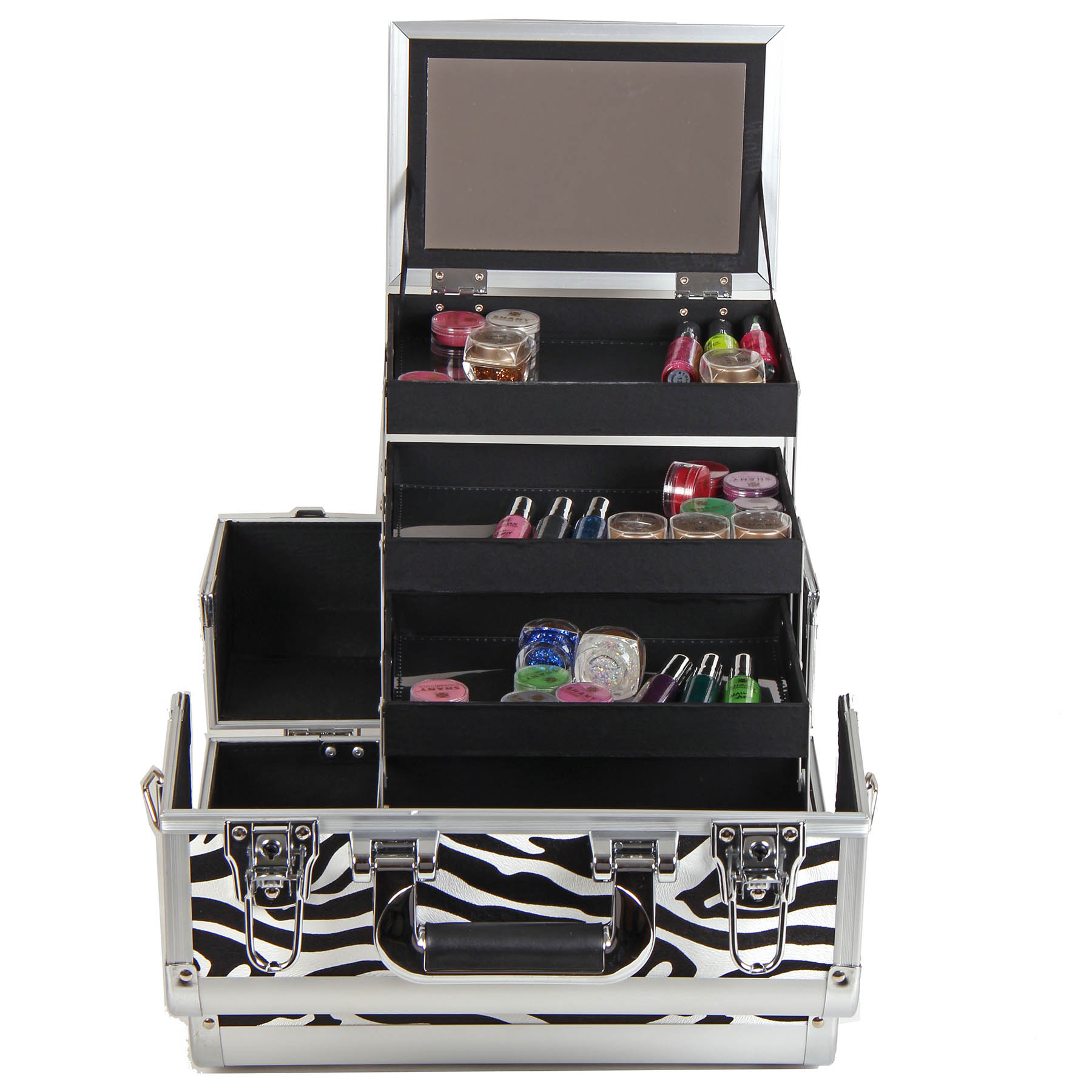 SHANY-Fantasy-Collection-Makeup-Artists-Cosmetics-Train-Case miniature 76