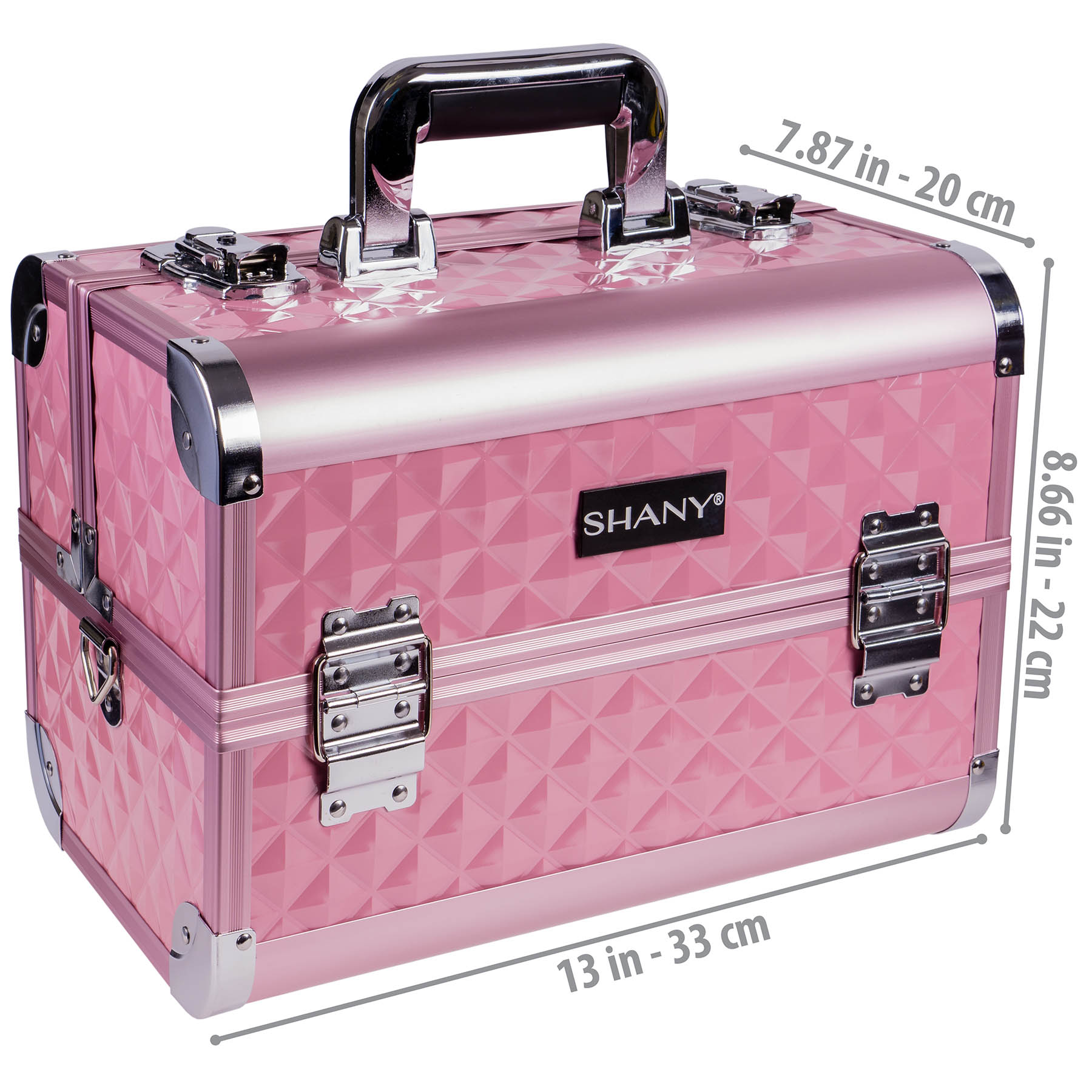 SHANY-Fantasy-Collection-Makeup-Artists-Cosmetics-Train-Case miniature 38