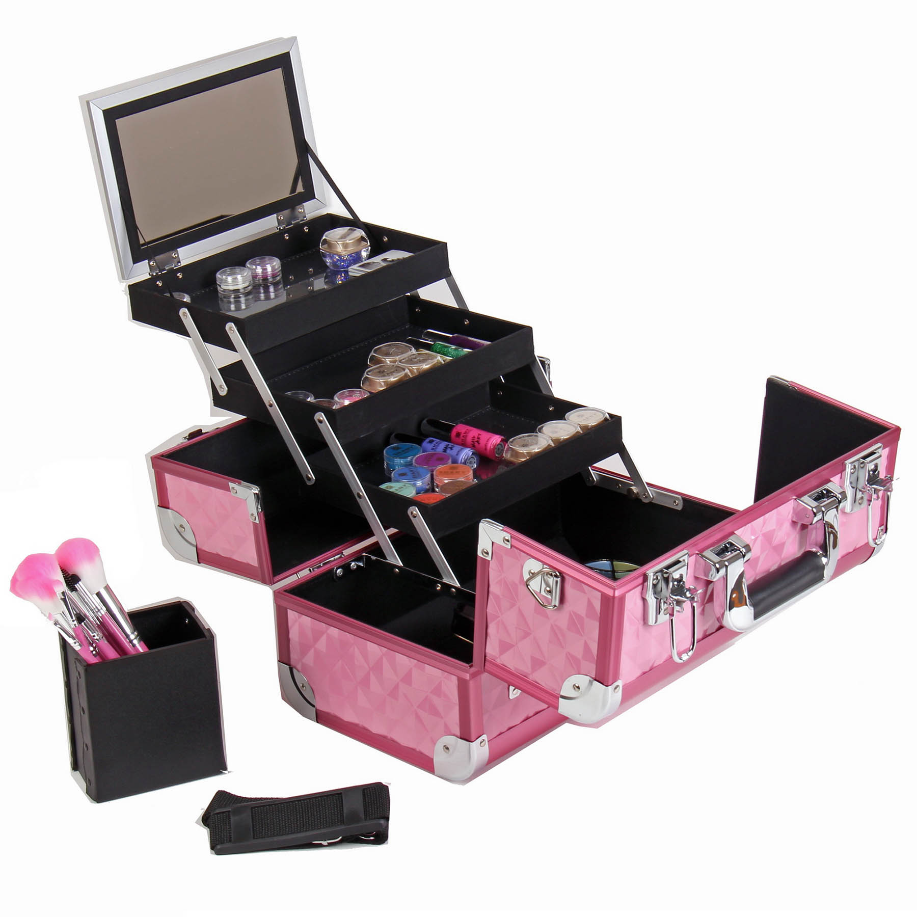 SHANY-Fantasy-Collection-Makeup-Artists-Cosmetics-Train-Case miniature 39
