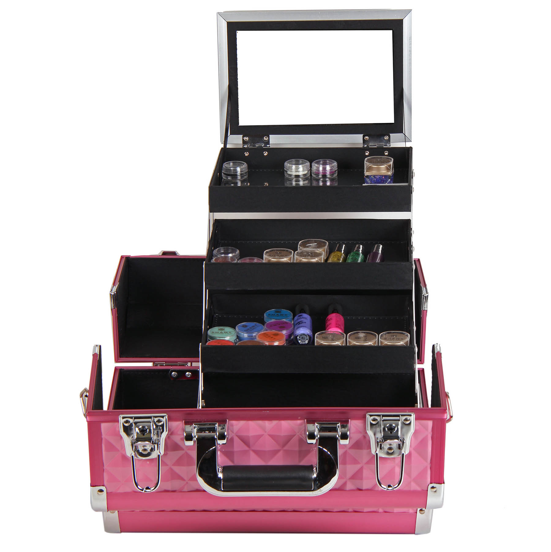 SHANY-Fantasy-Collection-Makeup-Artists-Cosmetics-Train-Case miniature 40