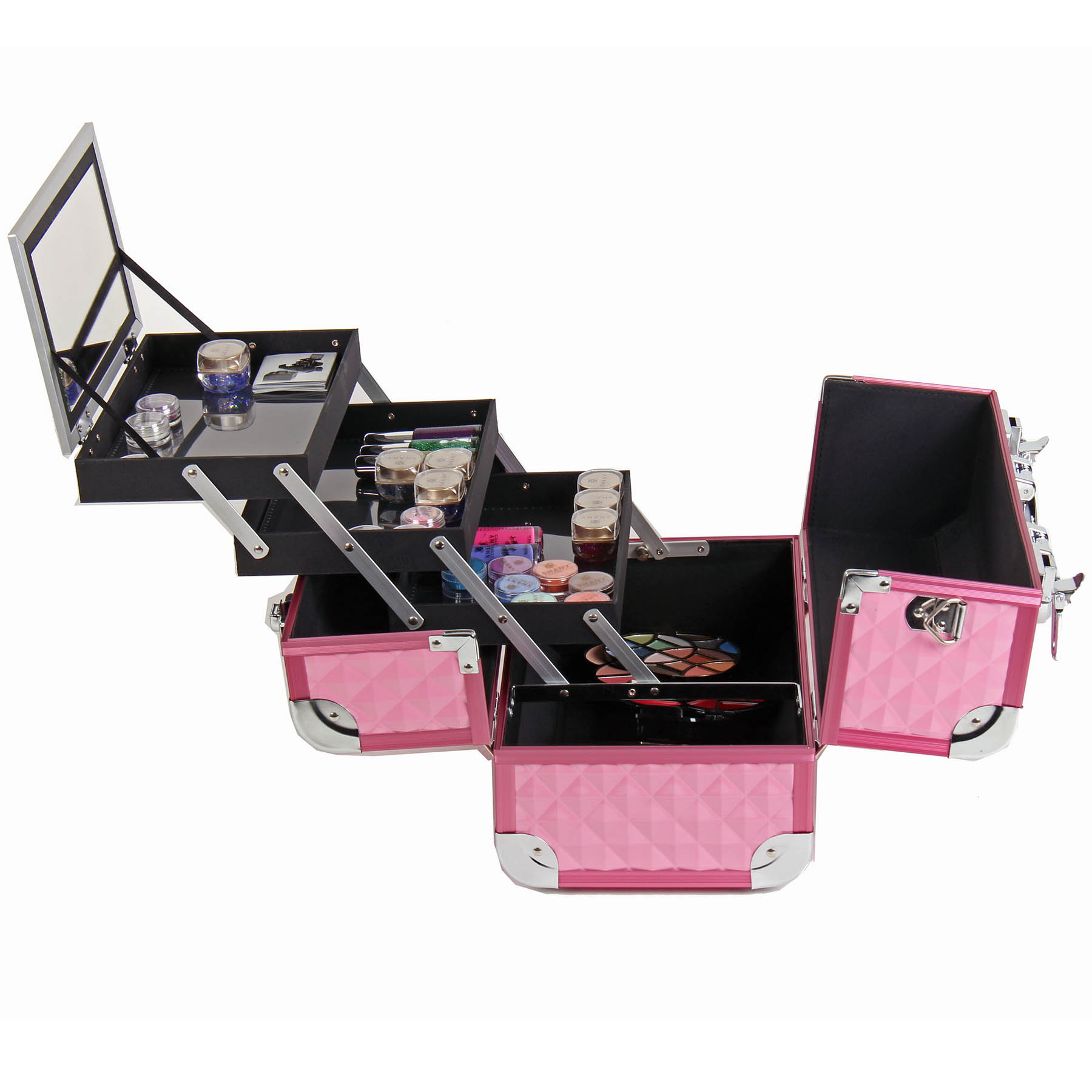 SHANY-Fantasy-Collection-Makeup-Artists-Cosmetics-Train-Case miniature 42