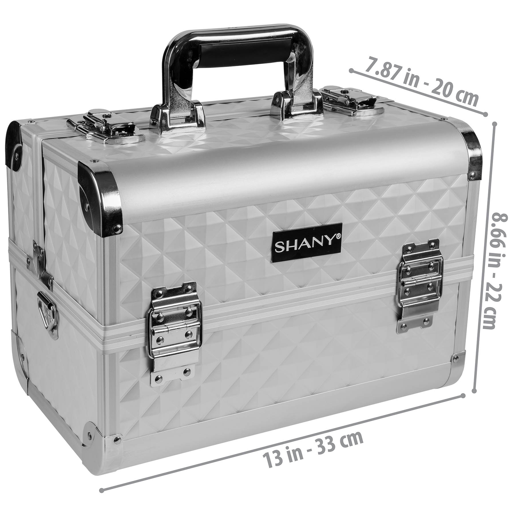 SHANY-Fantasy-Collection-Makeup-Artists-Cosmetics-Train-Case miniature 59