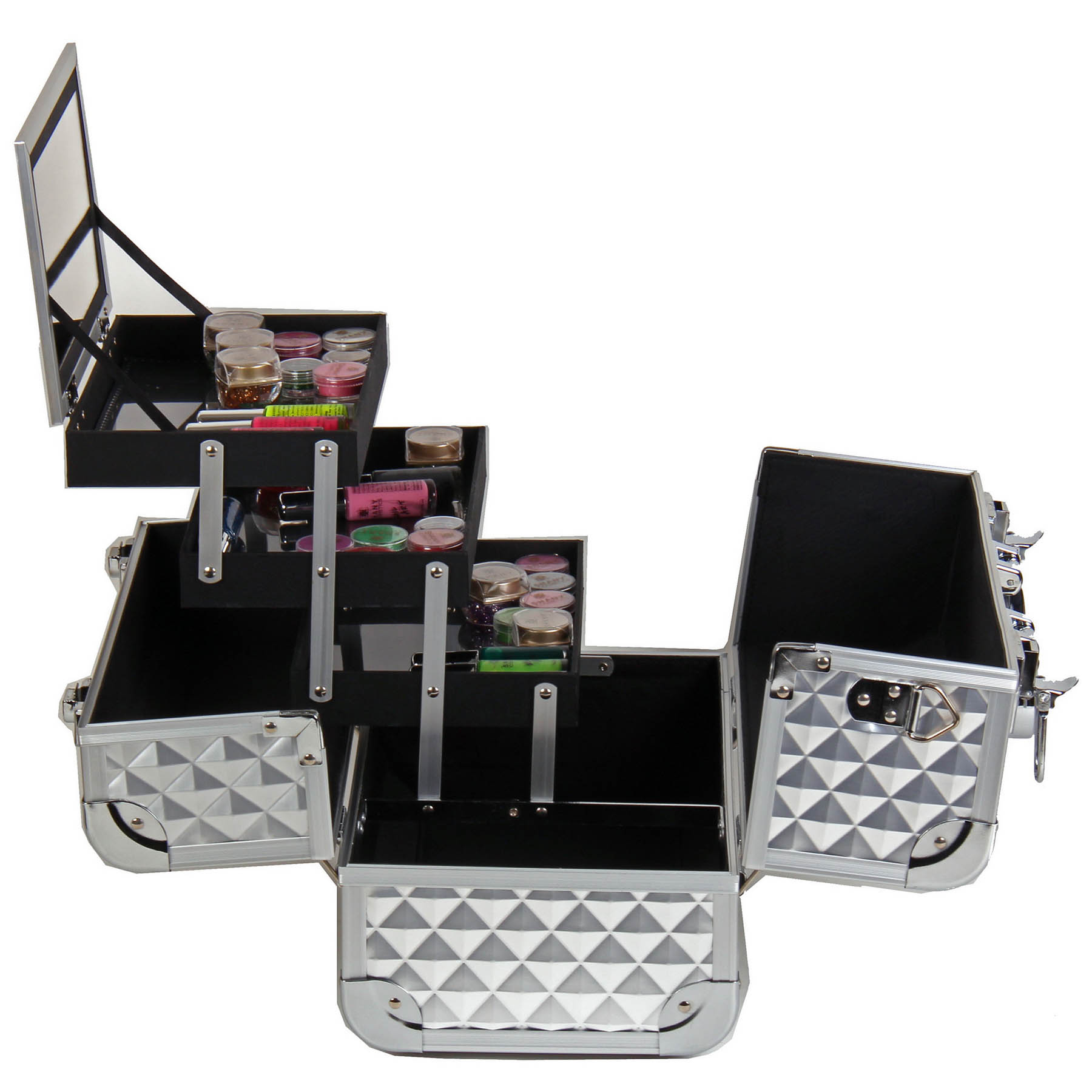 SHANY-Fantasy-Collection-Makeup-Artists-Cosmetics-Train-Case miniature 61