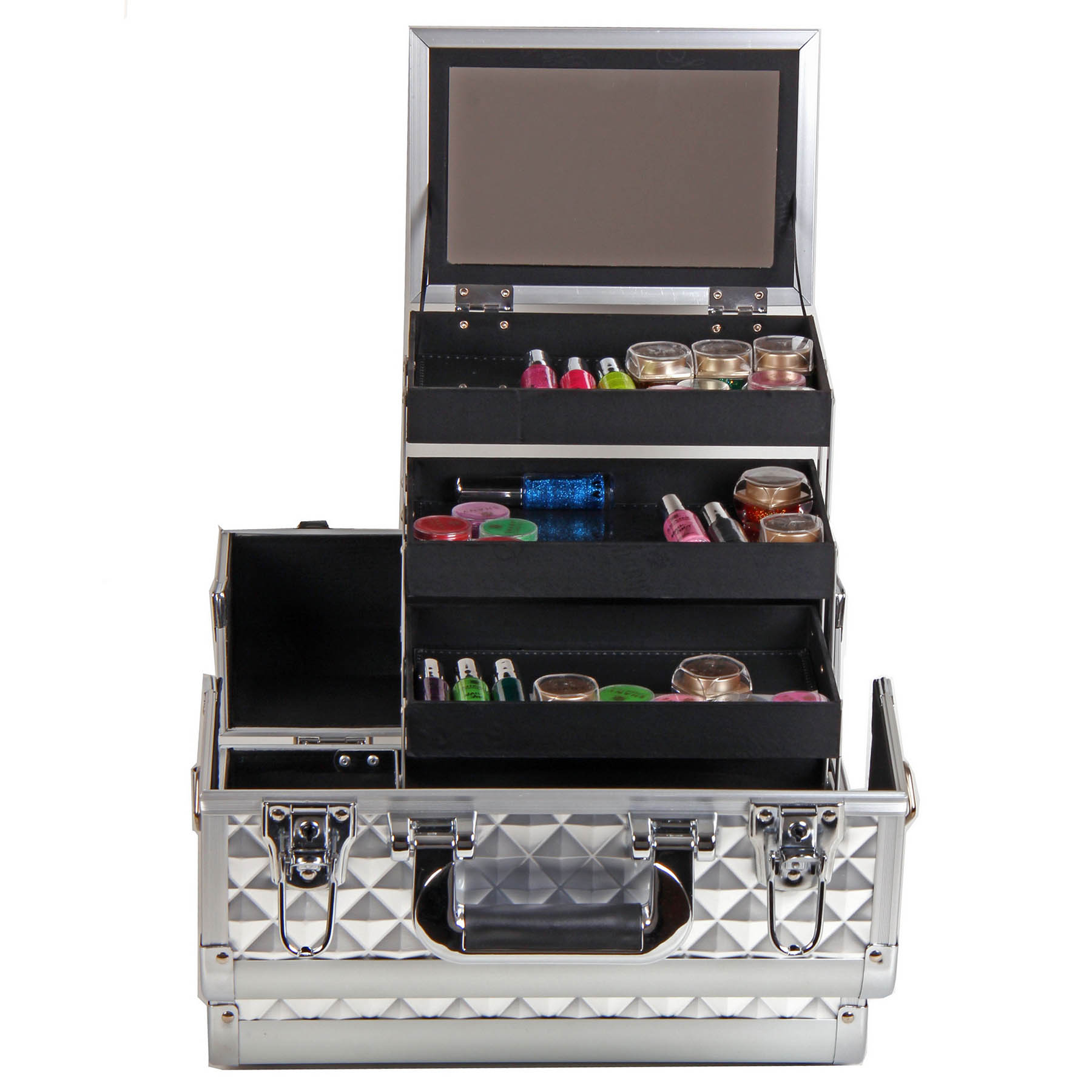 SHANY-Fantasy-Collection-Makeup-Artists-Cosmetics-Train-Case miniature 62