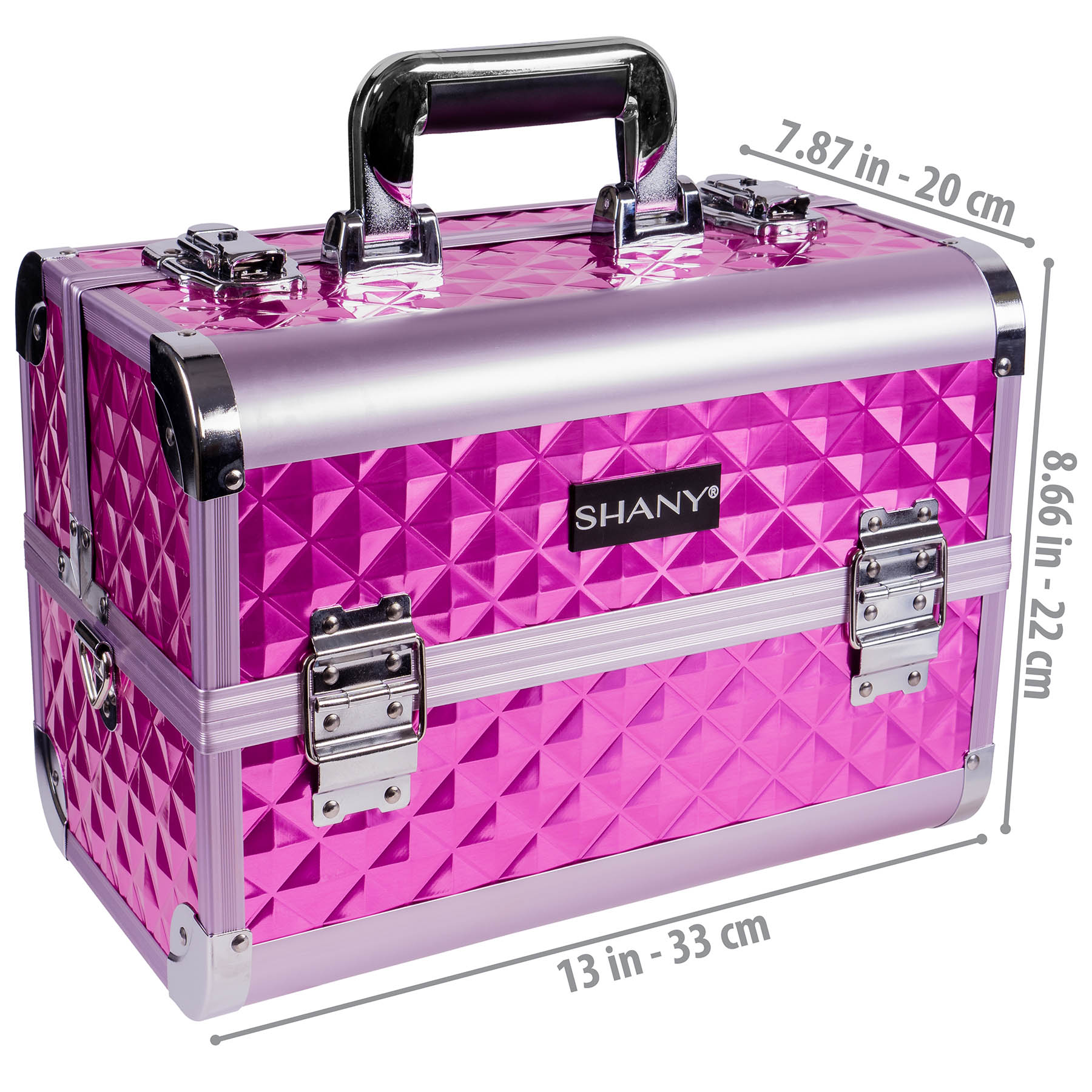 SHANY-Fantasy-Collection-Makeup-Artists-Cosmetics-Train-Case miniature 45
