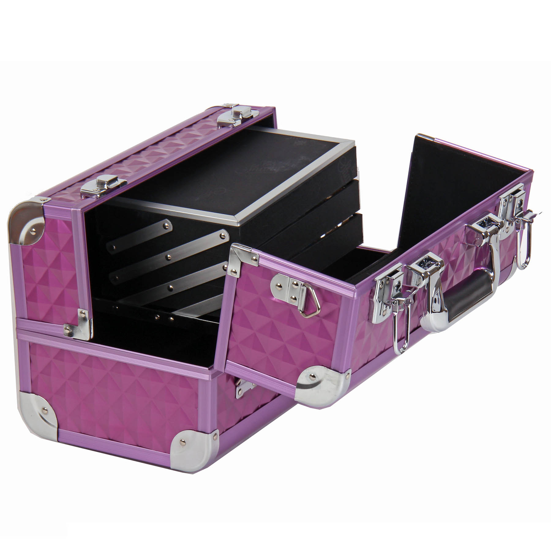 SHANY-Fantasy-Collection-Makeup-Artists-Cosmetics-Train-Case miniature 48