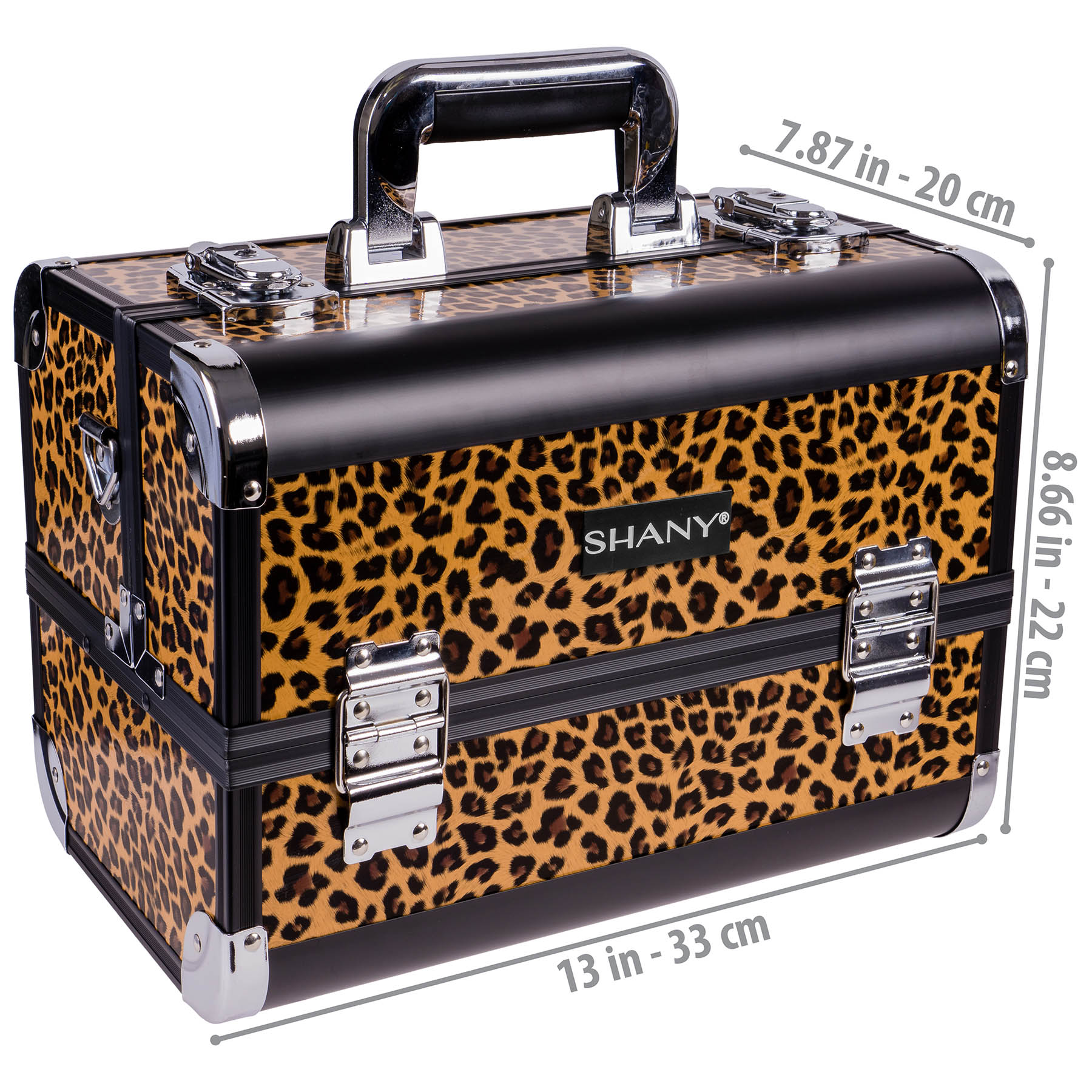 SHANY-Fantasy-Collection-Makeup-Artists-Cosmetics-Train-Case miniature 23