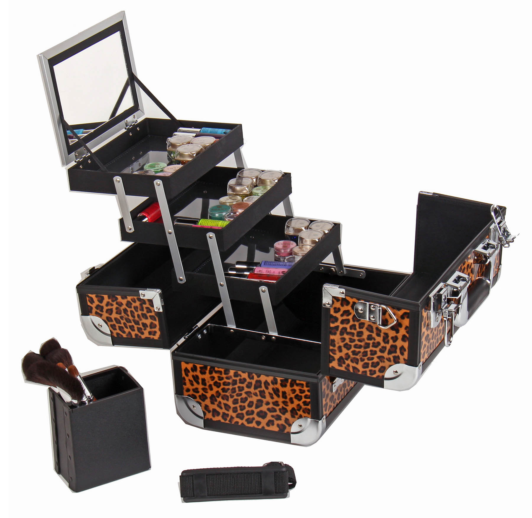 SHANY-Fantasy-Collection-Makeup-Artists-Cosmetics-Train-Case miniature 26