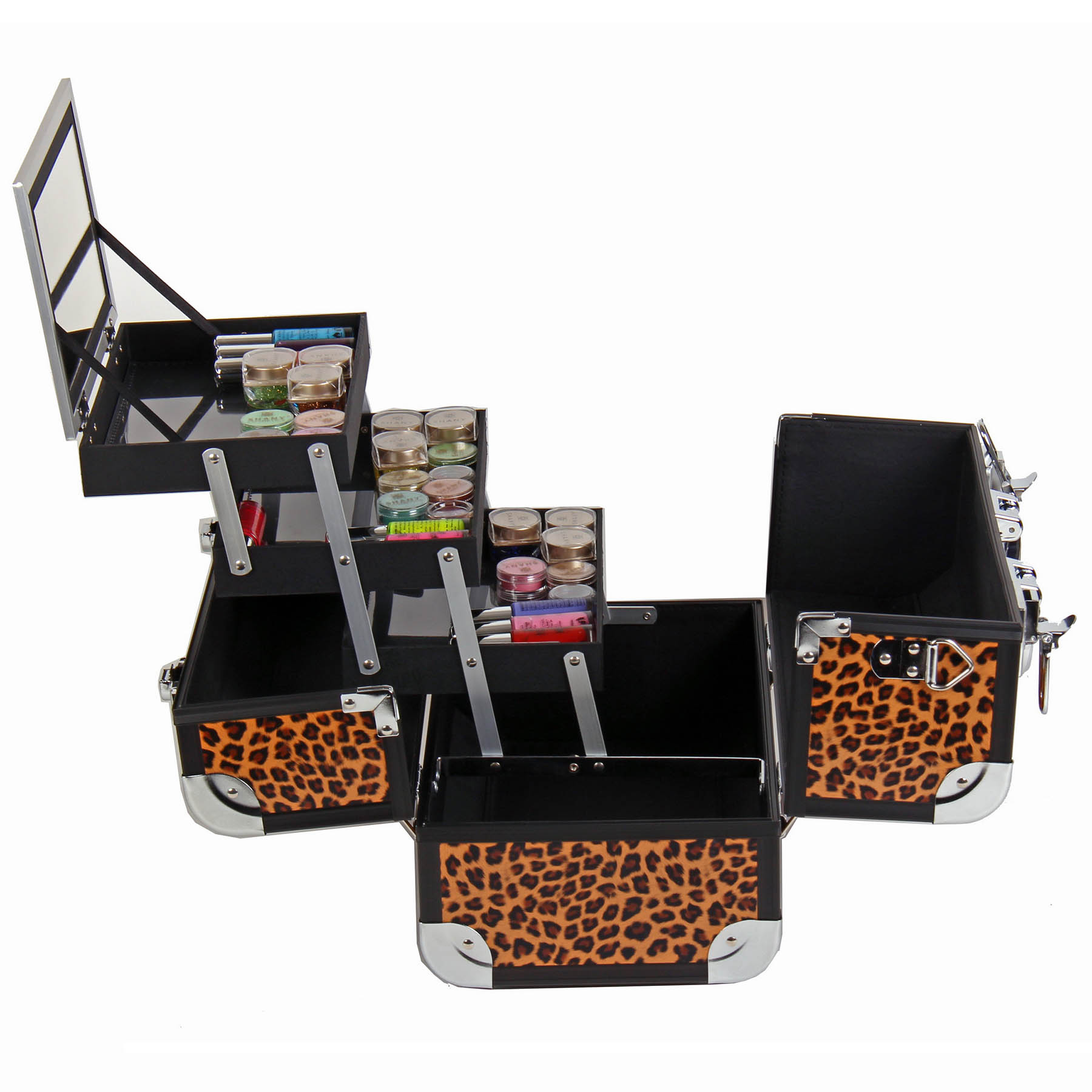 SHANY-Fantasy-Collection-Makeup-Artists-Cosmetics-Train-Case miniature 28