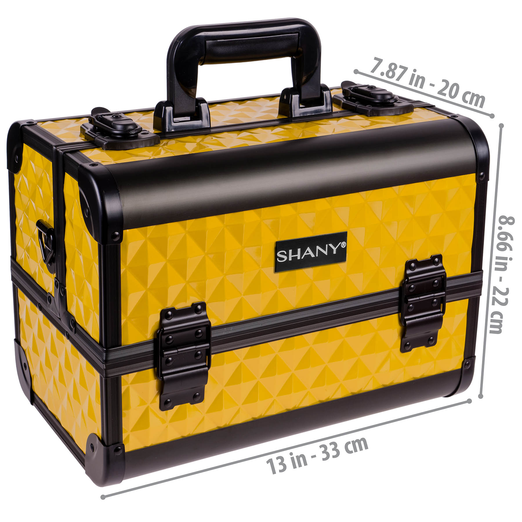 SHANY-Fantasy-Collection-Makeup-Artists-Cosmetics-Train-Case miniature 31