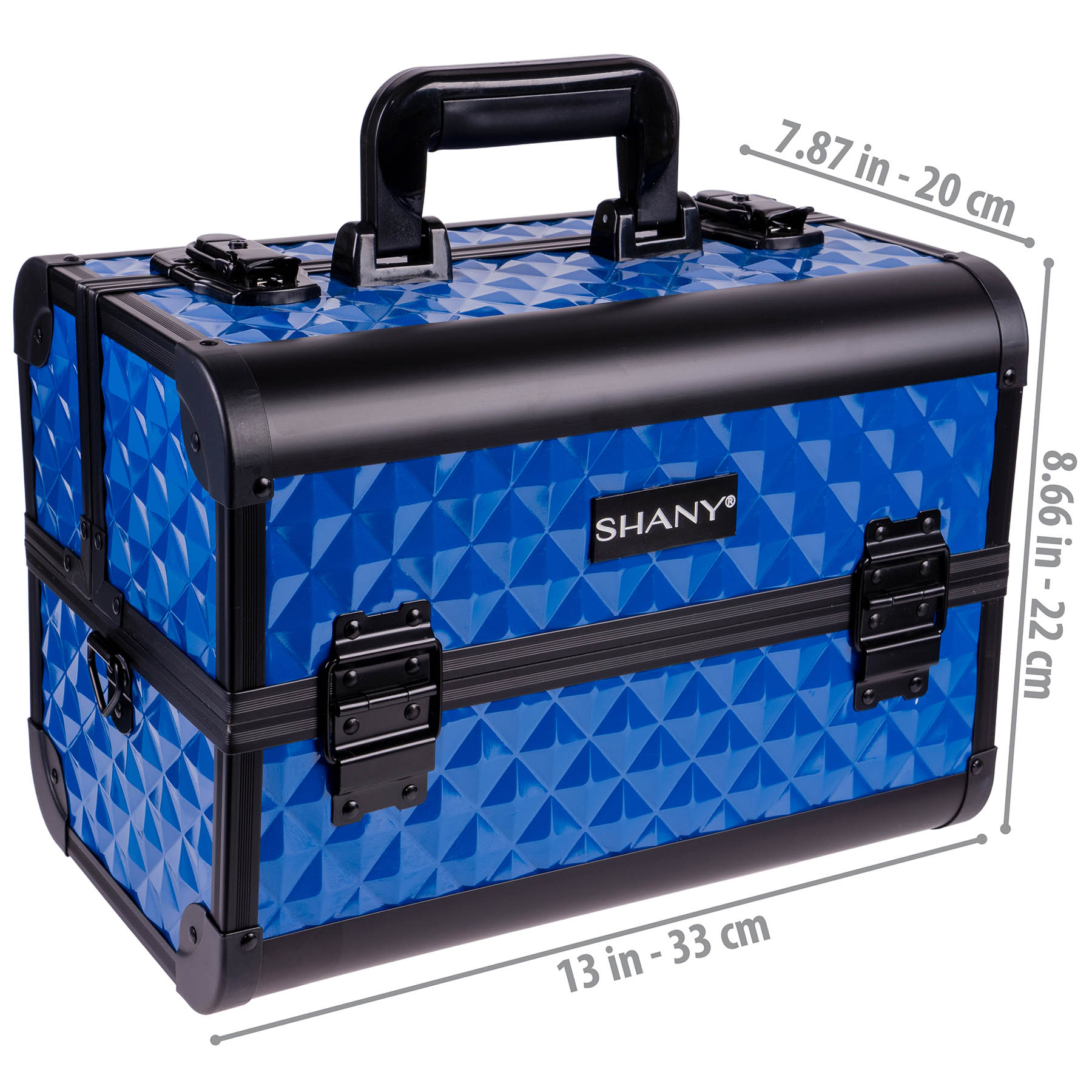 SHANY-Fantasy-Collection-Makeup-Artists-Cosmetics-Train-Case miniature 16