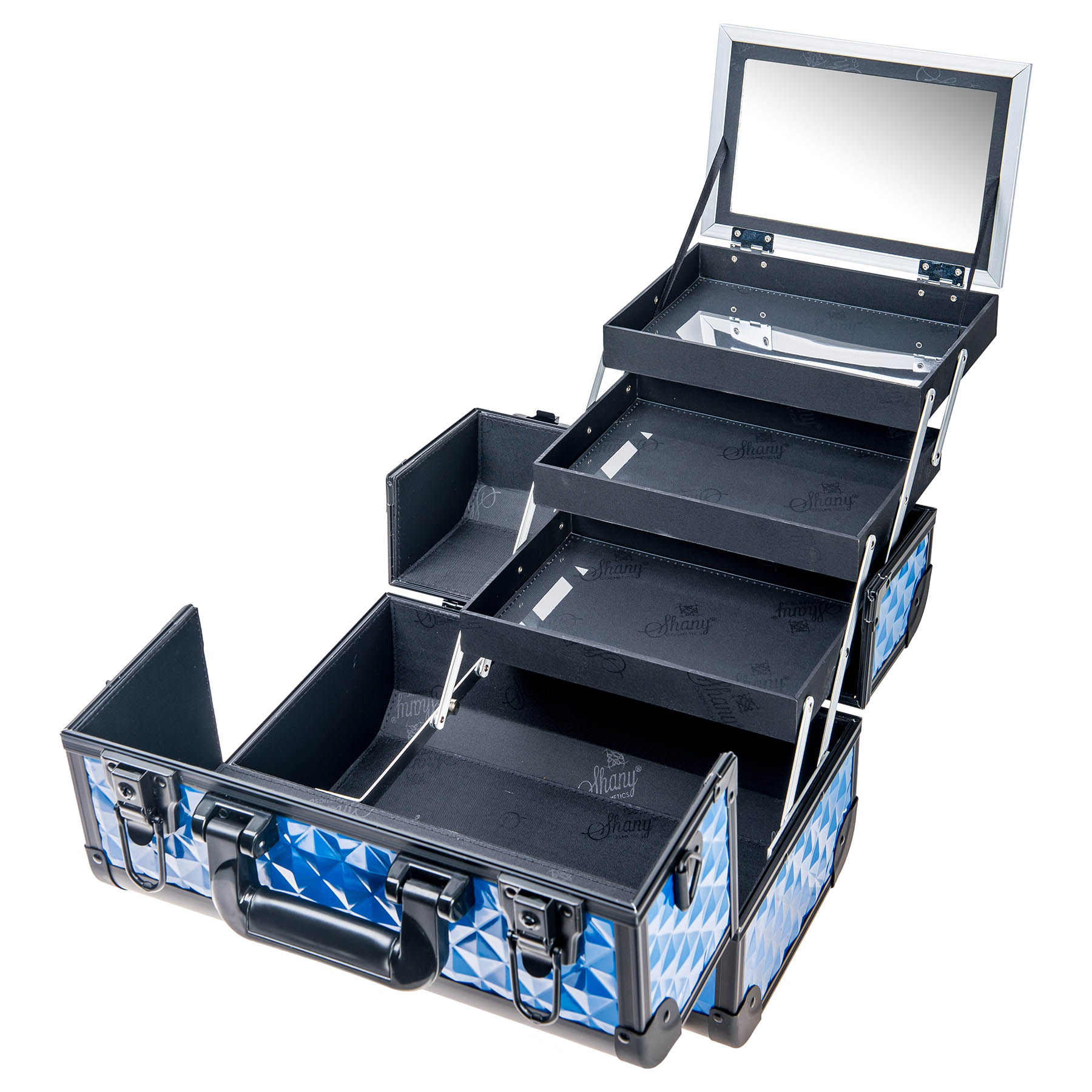 SHANY-Fantasy-Collection-Makeup-Artists-Cosmetics-Train-Case miniature 17