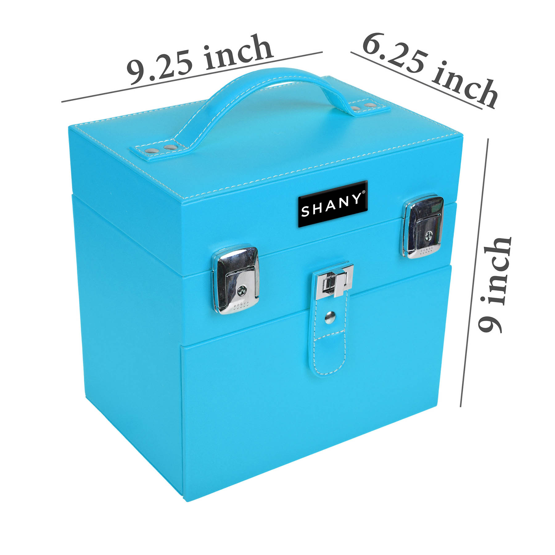 SHANY-Color-Matters-Nail-Accessories-Organizer-and-Makeup-Train-Case miniature 65