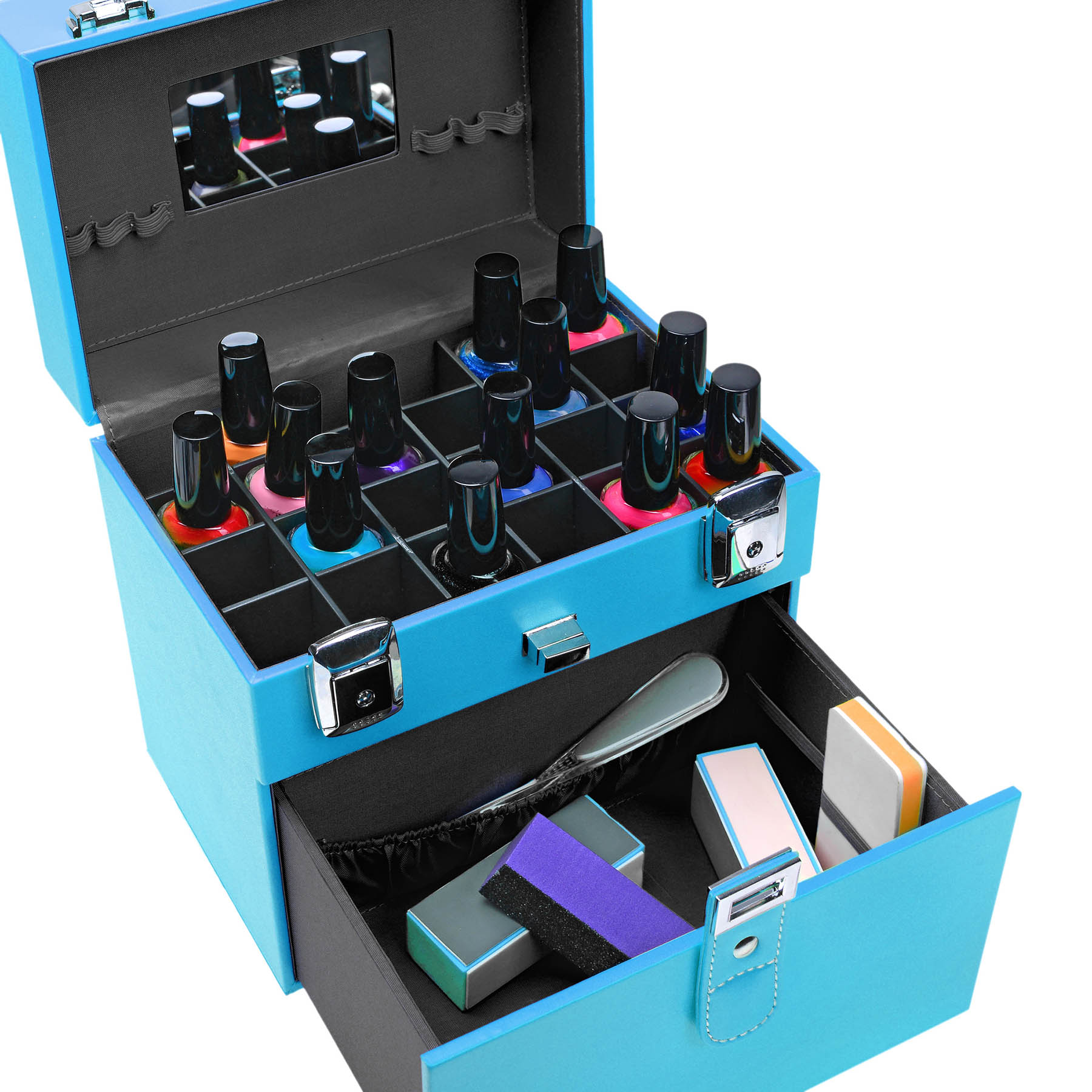 SHANY-Color-Matters-Nail-Accessories-Organizer-and-Makeup-Train-Case miniature 67