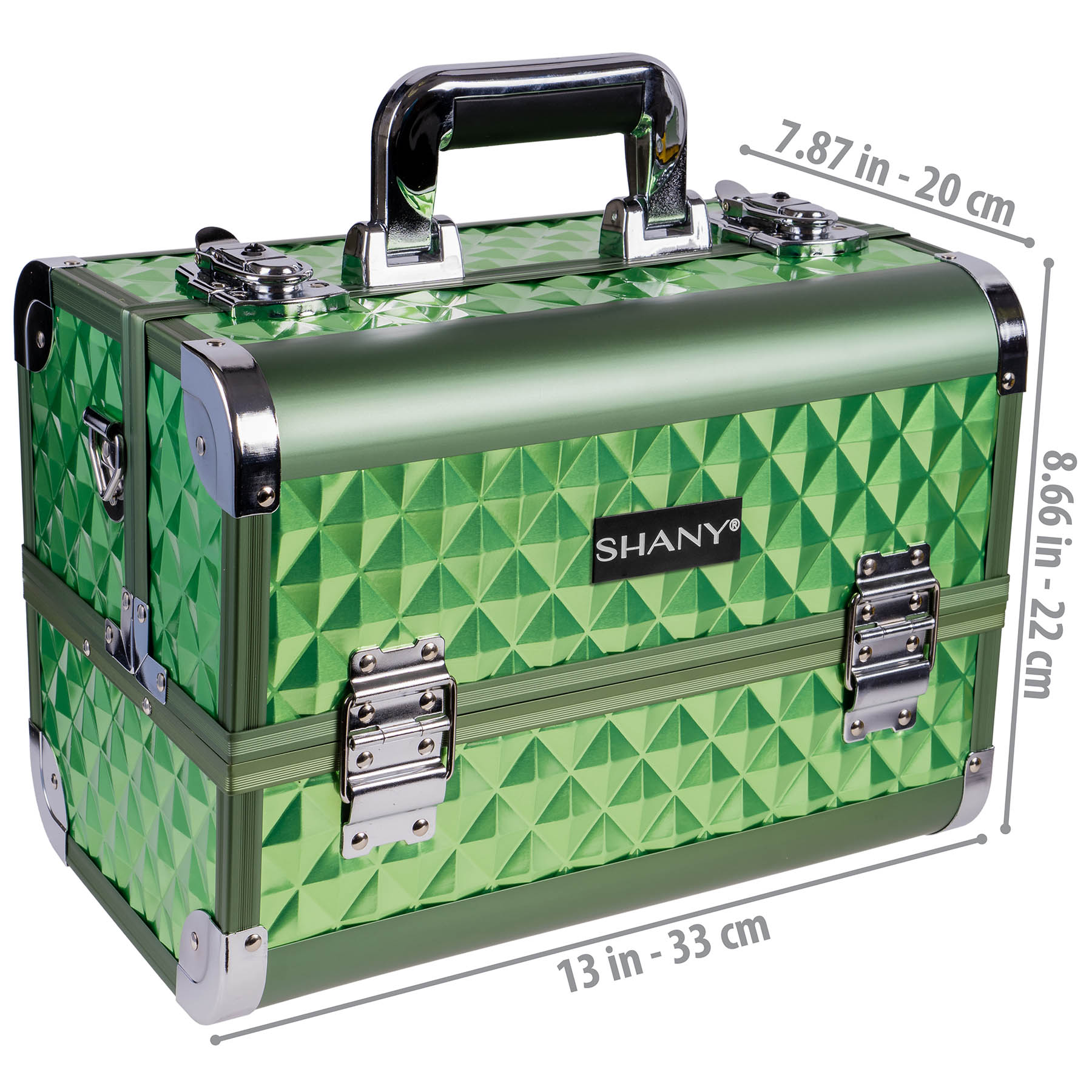 SHANY-Fantasy-Collection-Makeup-Artists-Cosmetics-Train-Case miniature 51