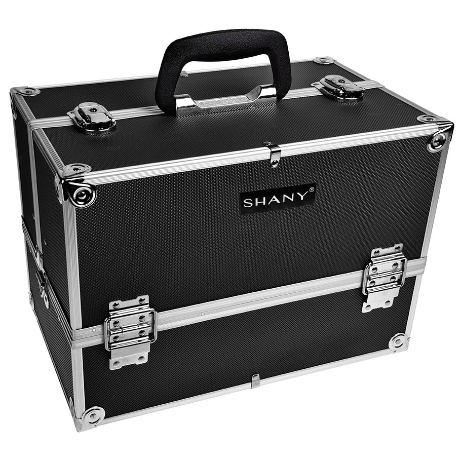 SHANY Essential Pro Makeup Train Case with Shoulder Strap ...