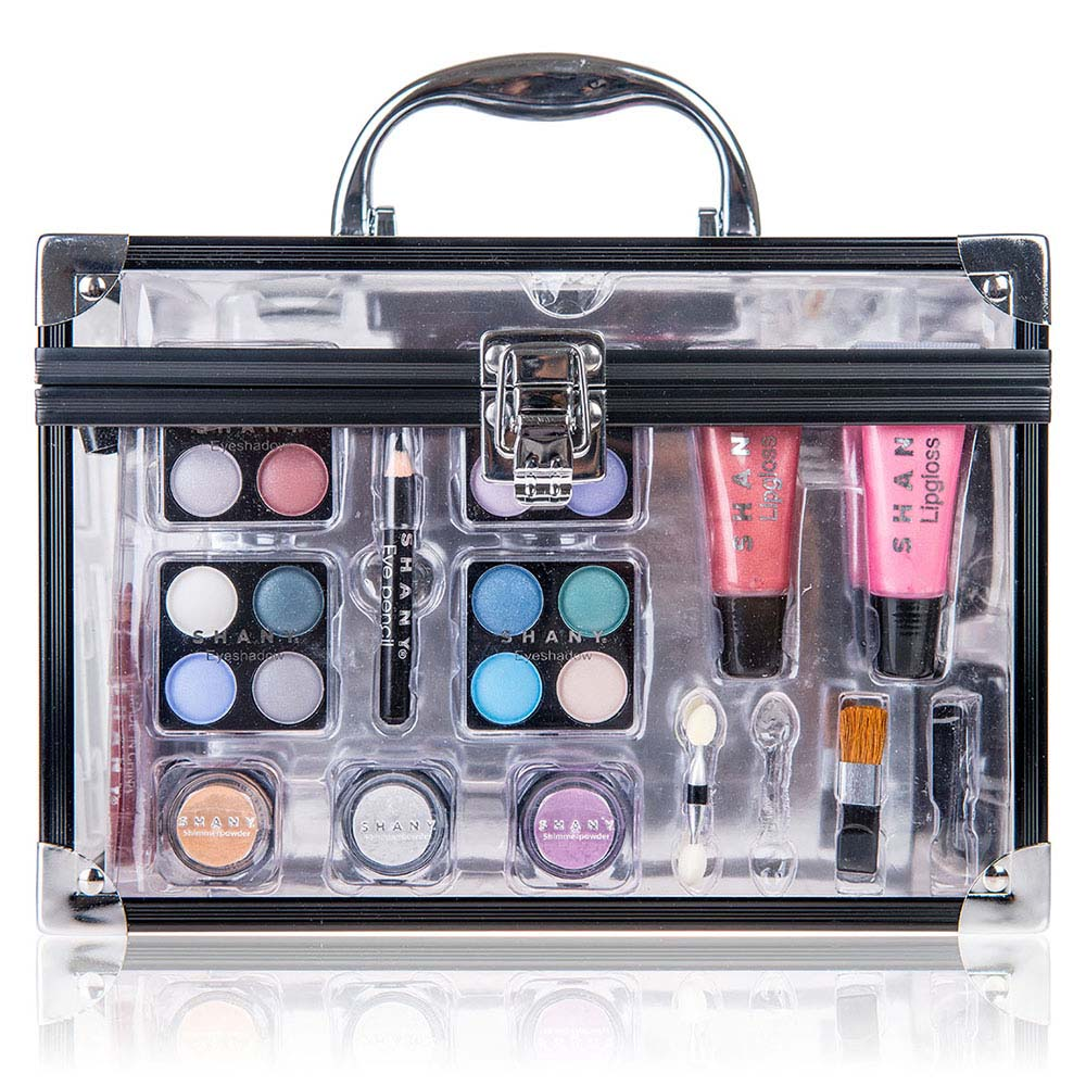 e9868b813d SHANY Carry All Trunk Makeup Case - Cosmetic Gift Set | eBay