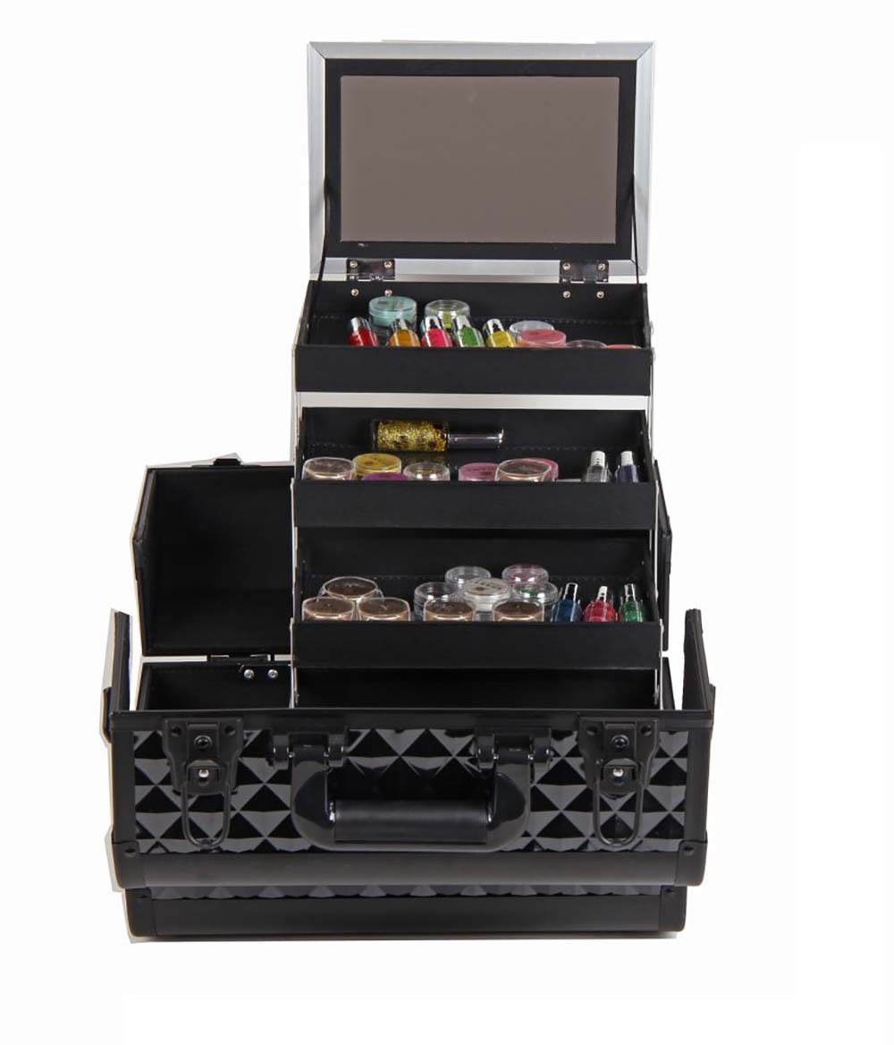 bh cosmetics train case