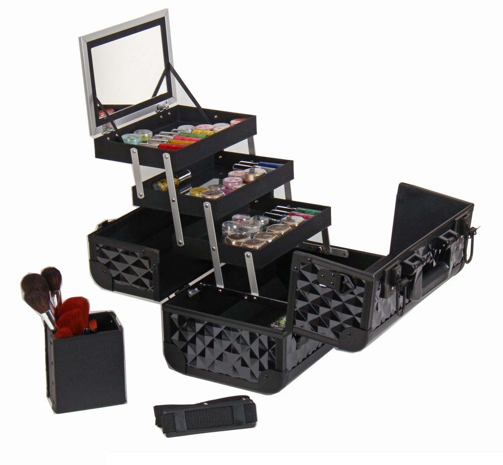 SHANY-Fantasy-Collection-Makeup-Artists-Cosmetics-Train-Case miniature 9
