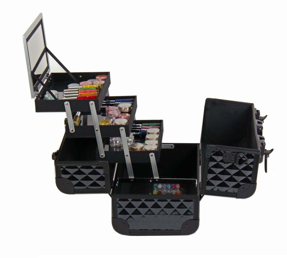 SHANY-Fantasy-Collection-Makeup-Artists-Cosmetics-Train-Case miniature 10