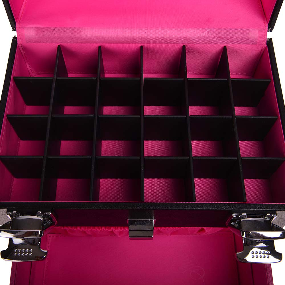 SHANY-Color-Matters-Nail-Accessories-Organizer-and-Makeup-Train-Case miniature 37