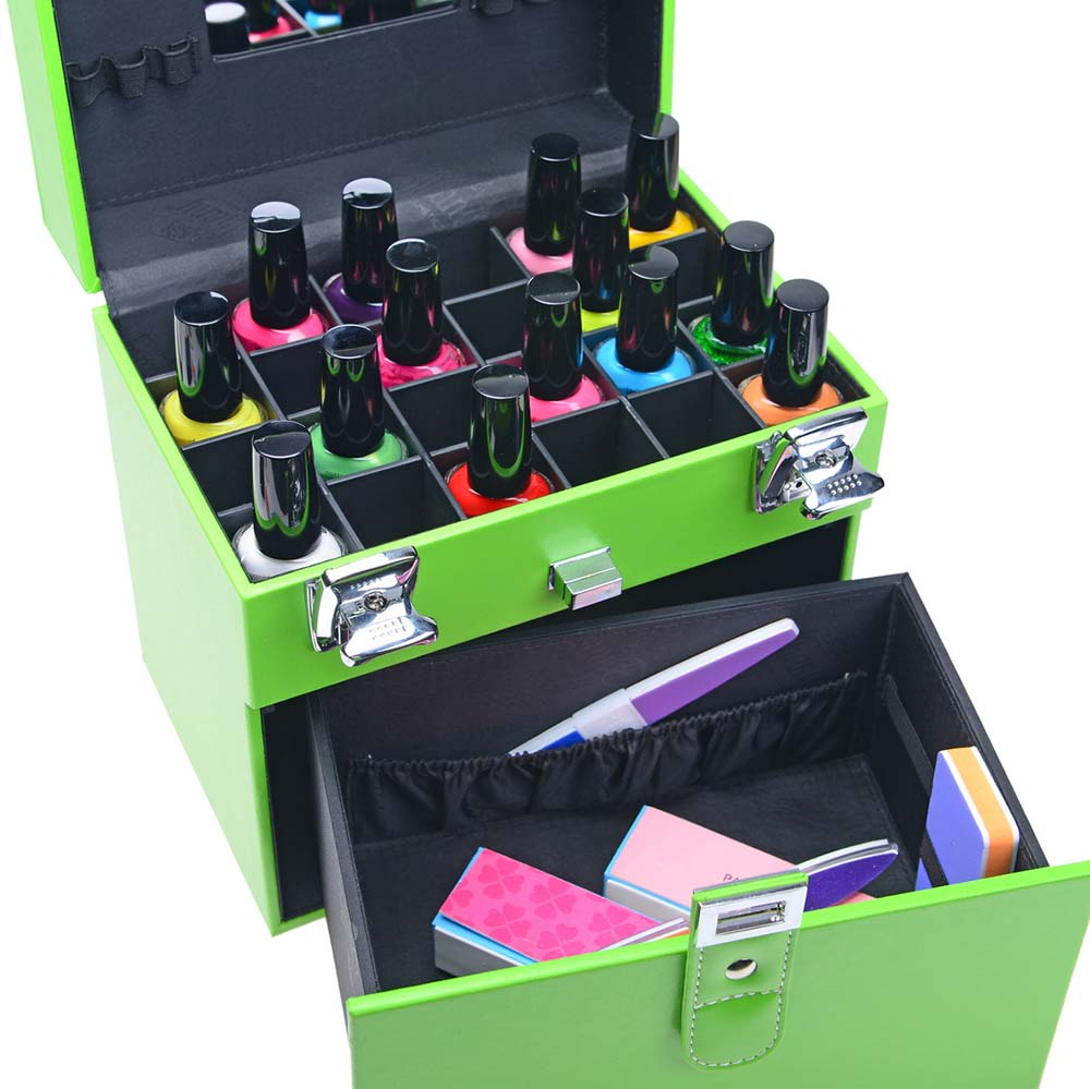 SHANY-Color-Matters-Nail-Accessories-Organizer-and-Makeup-Train-Case miniature 11