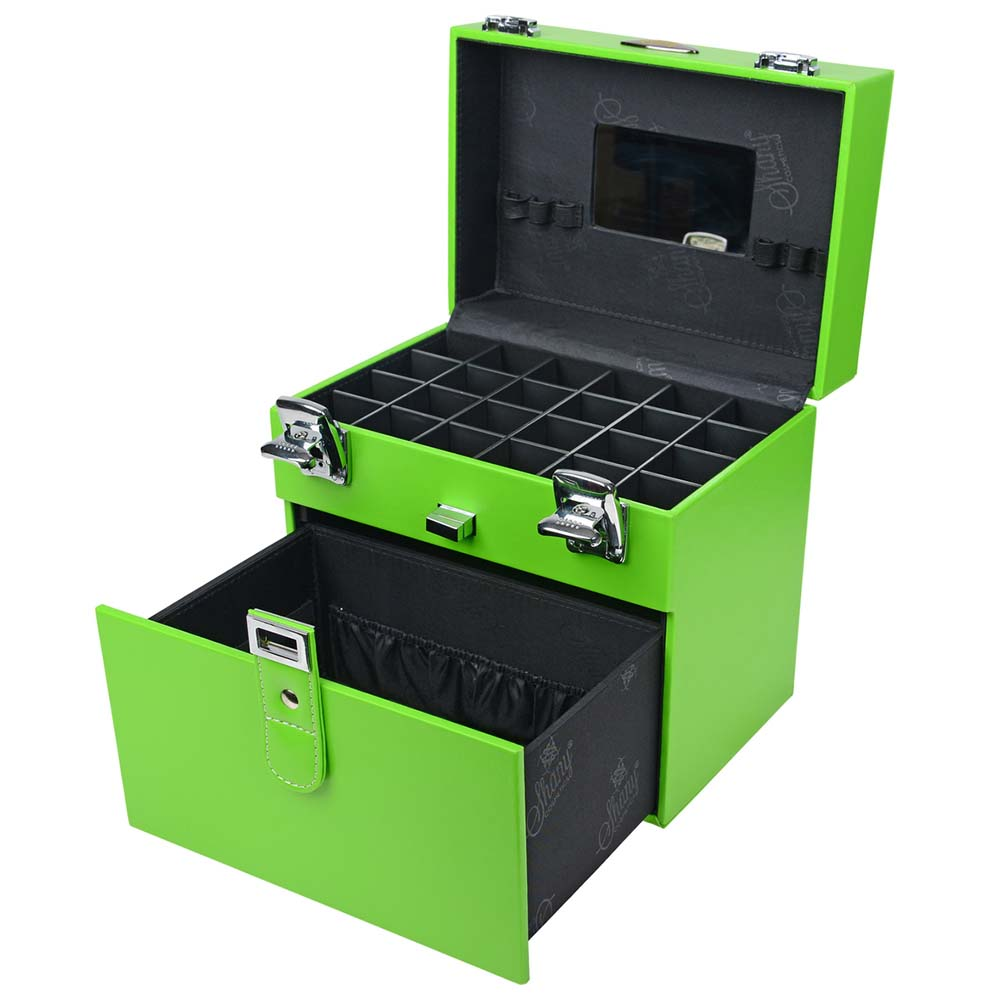 SHANY-Color-Matters-Nail-Accessories-Organizer-and-Makeup-Train-Case miniature 3