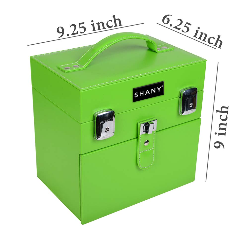 SHANY-Color-Matters-Nail-Accessories-Organizer-and-Makeup-Train-Case miniature 4