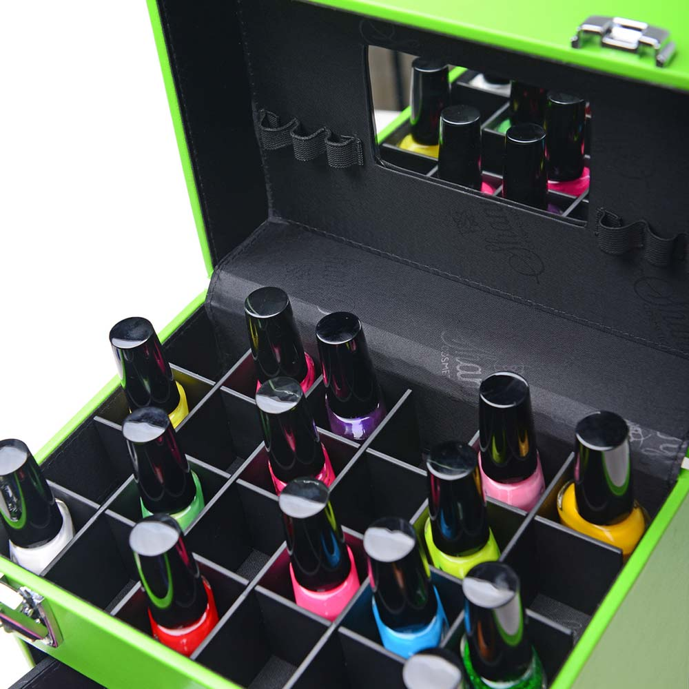SHANY-Color-Matters-Nail-Accessories-Organizer-and-Makeup-Train-Case miniature 7