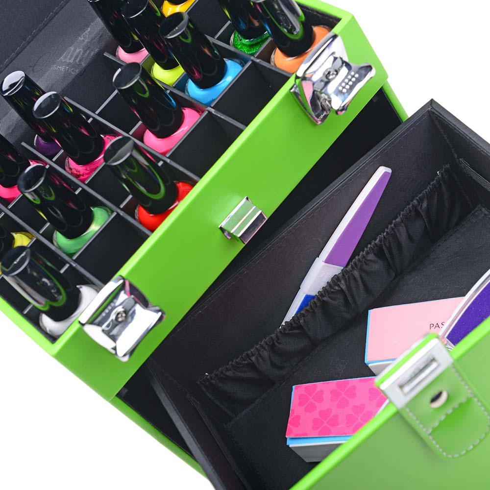 SHANY-Color-Matters-Nail-Accessories-Organizer-and-Makeup-Train-Case miniature 8
