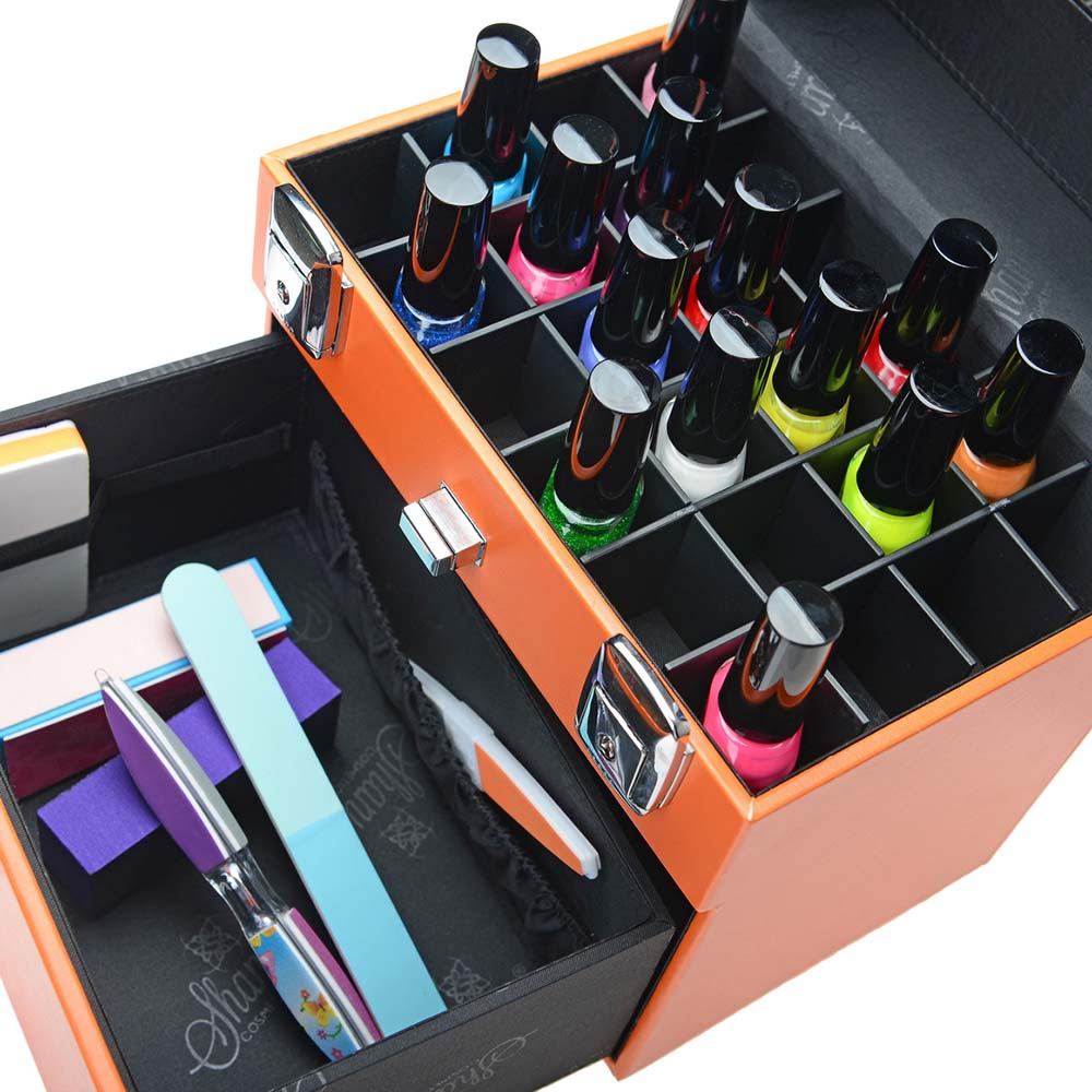 SHANY-Color-Matters-Nail-Accessories-Organizer-and-Makeup-Train-Case miniature 61
