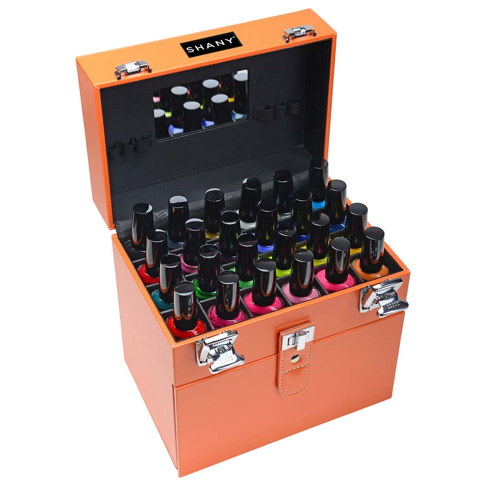 SHANY-Color-Matters-Nail-Accessories-Organizer-and-Makeup-Train-Case miniature 54