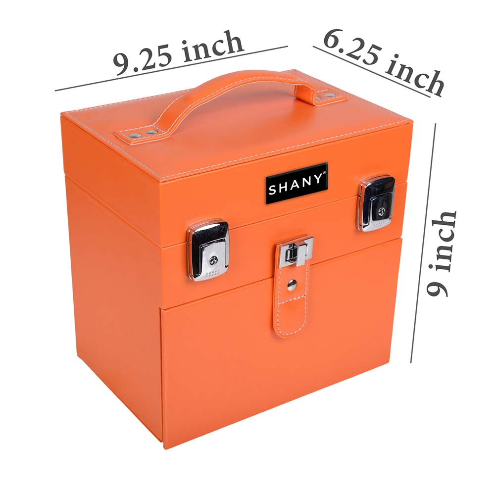 SHANY-Color-Matters-Nail-Accessories-Organizer-and-Makeup-Train-Case miniature 55