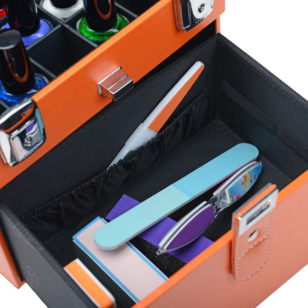 SHANY-Color-Matters-Nail-Accessories-Organizer-and-Makeup-Train-Case miniature 56