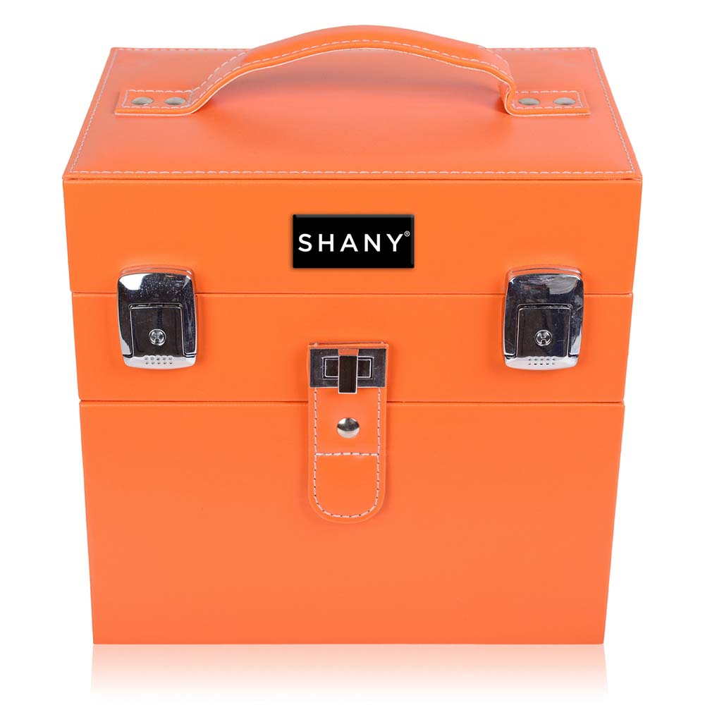 SHANY-Color-Matters-Nail-Accessories-Organizer-and-Makeup-Train-Case miniature 58