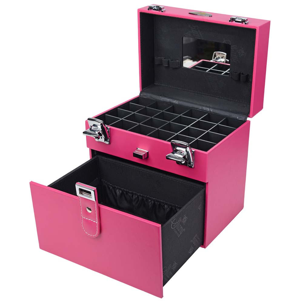 SHANY-Color-Matters-Nail-Accessories-Organizer-and-Makeup-Train-Case miniature 43